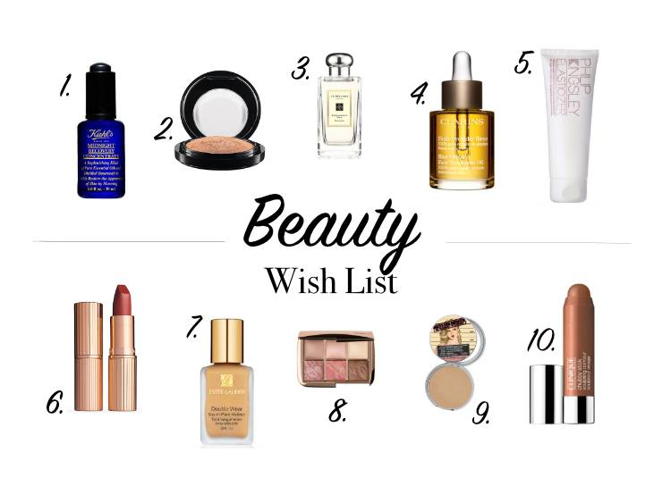My Beauty Wish List