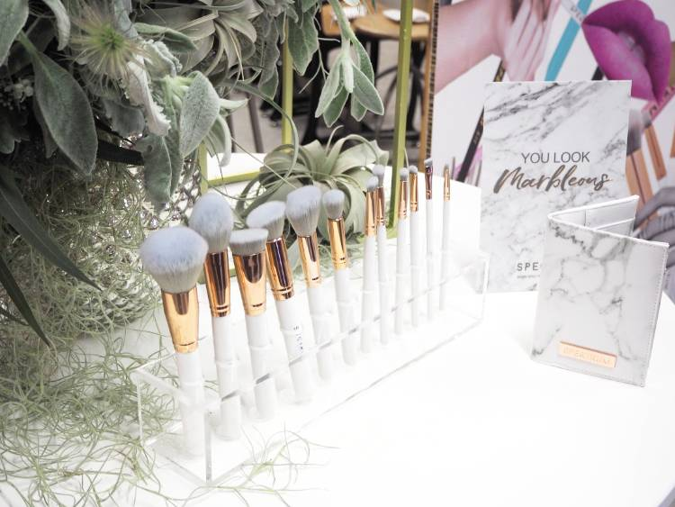 Spectrum collections, spectrum brushes, beauty, makeup brushes, glam clam, inspired, blogging events