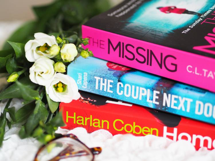 Reading, library, crime, thriller, Harlan Coben, The Couple Next Door, Home, good books, The Missing,