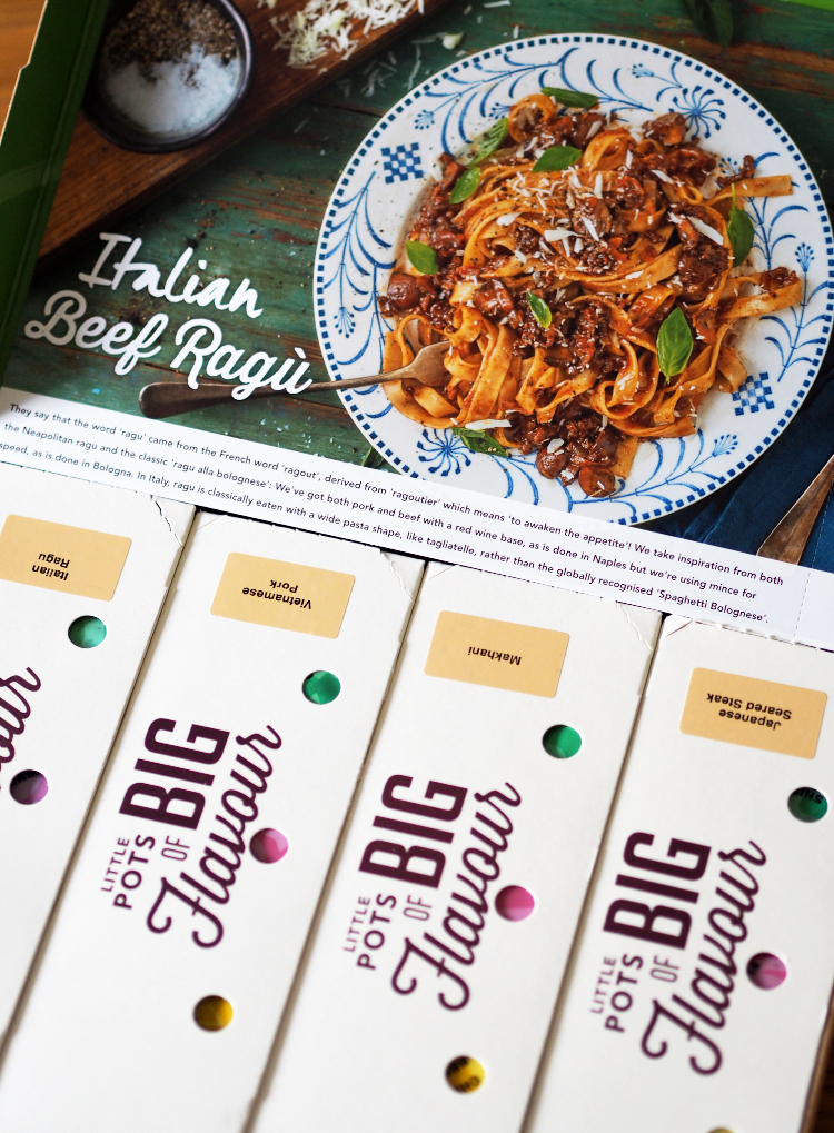 Simply Cook, Unboxing, First Impressions, review, Italian beef ragu, Italian food, subscription box, subscription service, family meals, easy meals, recipe, homemade food, meal plans, cooking, vegetarian food, gluten free, dinner inspiration