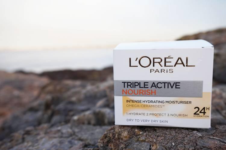 Skincare Review: L'Oreal Triple Active Nourish Moisturiser