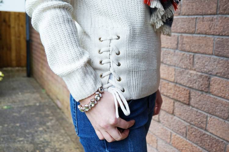 Outfit of the Day - Winter Casuals - New Look Cream Jumper