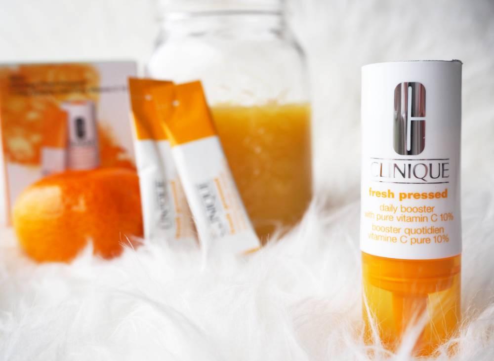 Clinique vitamin C fresh pressed 7-day system, Vitamin C, Clinique, Beauty, Skincare, anti-aging, brighter skin, rosacea, acne