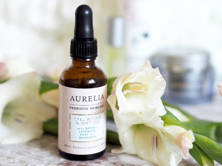 Skincare, rosacea, Liz Earle, cleanser, cleanse and polish, Superskin concentrate, superskin moisturiser, Aurelia, Aurelia cell repair night oil, facial oil,