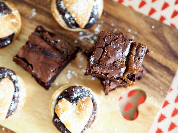 Brownie Mince Pie, brownies,