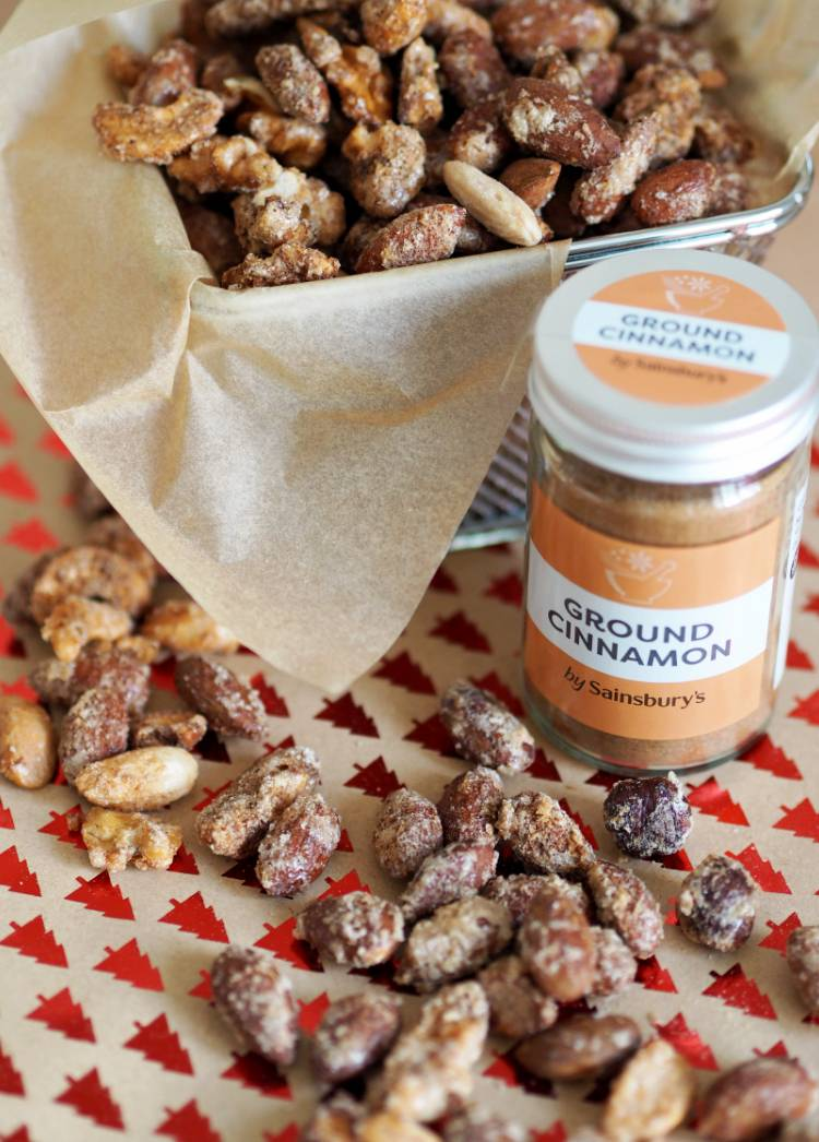 The Easiest Roasted Cinnamon Nut Recipe