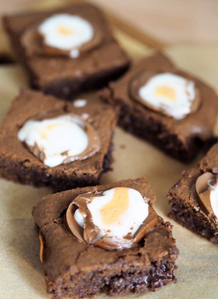 Crème Egg brownie, Brownies, Recipe, Baking, Easter, Cooking, Food and Drink, Dessert, Things to do,