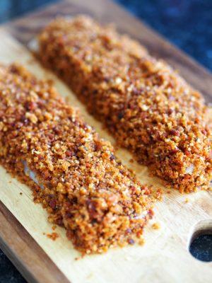 Crispy Chorizo Cod