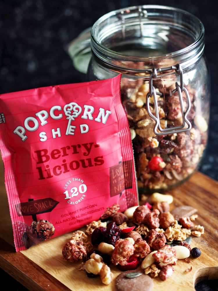 Popcorn Trail Mix Recipe with Popcorn Shed